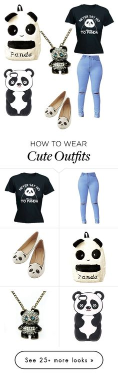 """Panda outfit 2"" by pandapop263 on Polyvore"