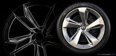 Bentley Bentayga 22-inch wheel design