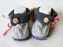 Babyschuhe Tracht Knit Boots, New Product, Baby Knitting, Baby Shoes, Etsy, Cute, Kids, Clothes, Beautiful