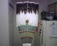 Native+American+Feather+Fans | Winterhawk fan | Flickr - Photo Sharing!
