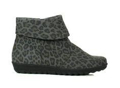 Waldlaufer boots leopard gray