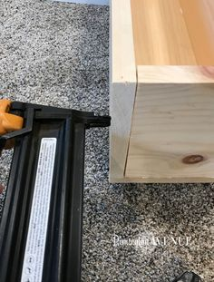 The easiest DIY wood mantel ever! I'm not a pro, but this mantel looks so good! Come join me for a fun tutorial and inexpensive project! Diy Fireplace Mantel, Build A Fireplace, Brick Fireplace Makeover, Wood Mantels, Rustic Fireplaces, Fireplace Remodel, Fireplace Ideas, Mantle Ideas, George Nelson