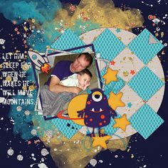 Out of This World from Scraps N Pieces by Lori and Heidi http://www.scraps-n-pieces.com/store/index.php?main_page=product_info&cPath=66_67&products_id=11144 Template from Wendy Tunison Designs