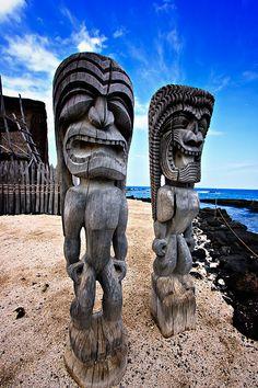 """Puʻuhonua o Hōnaunau National Historical Park - AKA """"Place of Refuge"""", Big Island, Hawai'i"""