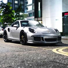 Porsche 991 GT3 RS painted in GT Silver Metallic Photo taken by: @horsepower_hunters on Instagram