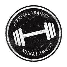Logo design for a personal trainer Fitness Design, Fitness Brand, Web Design, Logo Design, Graphic Design, Business Card Design, Business Cards, Gym Logo, Logo Branding