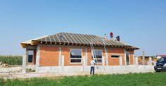 Casa pe parter in Corbeanca | CoArtCo Civil Construction, House Foundation, Design Case, Architect Design, Gazebo, Outdoor Structures, Tips, Home Decor, Building Homes