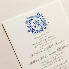 Wedding invitation |