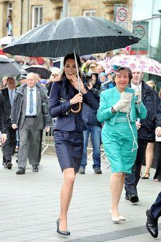 Kate Middleton Photos  - Prince William and Kate Middleton in Lancashire - Zimbio
