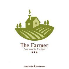 The farmer logo Free Vector                                                                                                                                                                                 More