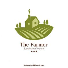The farmer logo Free Vector                                                                                                                                                                                 More