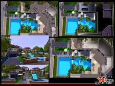 Crazy sims 3 house