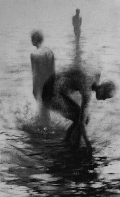 Wading by Clara Lieu