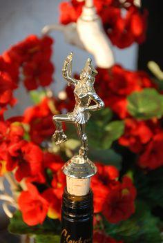 Majorette with Baton Trophy Wine Bottle Stopper by GulfCoasters on Etsy