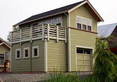 Justenuf Garage/Studio | Ross Chapin Architects