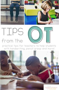 Tips from the OT for