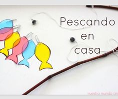pesca Diy For Kids, Crafts For Kids, Arts And Crafts, Motor Activities, Activities For Kids, Baby Center, Baby Play, Diy Toys, Creative