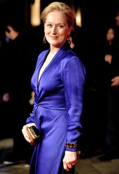 Meryl Streep attends a screening of 'Suffragette' on the opening night of the BFI London Film Festival at Odeon Leicester Square on October 7, 2015 in London, England.
