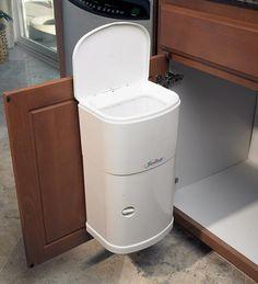 Elegant Inside Cabinet Garbage Can