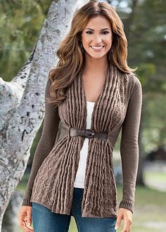 Buckle closure cardigan available in sizes XS - XL