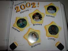 scrapbook title page - Google Search