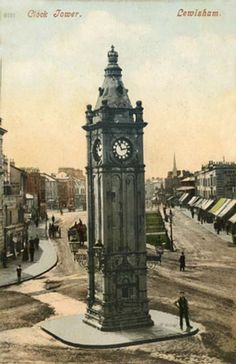 London, Lewisham, Clock Tower 1900's