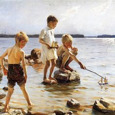 Albert Edelfelt (1854 - 1905)