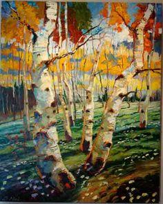 "Patrick Matthews, Mountain Dance, 2006, Oil on canvas, 60"" x 48"""