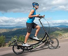 Outdoor Elliptical Exercise Bicycle . The outdoor elliptical exercise bicycle combines the grueling workout you get at the gym with the unparalle...
