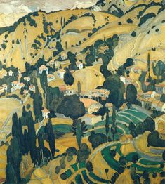 ← → Burnt Village In Mytilini Spyros Papaloukas Date: 1925 Lawrence Lee, Greece Painting, Landscaping Images, Caravaggio, City Art, Artist Painting, Landscape Art, Cool Artwork, Contemporary Art