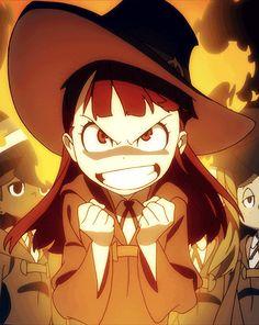 Akko- little witch academia                                                                                                                                                     Mais