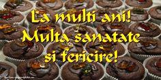 Felicitari de zi de nastere - Pagina 19 - mesajeurarifelicitari.com Muffin, Breakfast, Desserts, Food, Morning Coffee, Tailgate Desserts, Deserts, Essen, Muffins