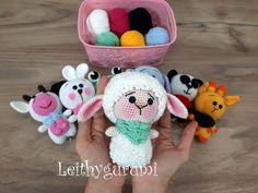 Leithygurumi: Amigurumi Little Sheep English and Turkish Patterm