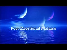 Post-Exertional Malaise - The ME/CFS Ghost - YouTube
