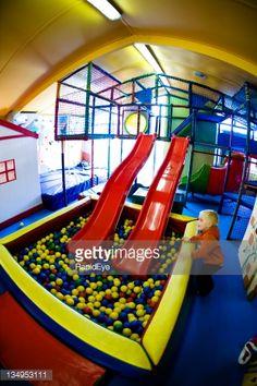 Stock Photo : Indoor playground