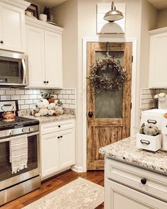 Join The Original Decor Tribe to discover new accounts gain friends become part of an amazing community! Kitchen Ikea, Fall Kitchen Decor, Farmhouse Kitchen Decor, Kitchen Redo, New Kitchen, Kitchen Remodel, Kitchen Pantry, Fall Decor, Pantry Cabinets