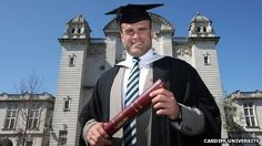 Wales and British and Irish Lions star Jamie Roberts is adding a medical degree to his list of accolades.    On the back of the Lions' win in Australia earlier this month, Roberts graduated from Cardiff University's School of Medicine on Friday.    It has taken him eight years to earn the title Dr Roberts due to the work involved while juggling a career with Cardiff Blues, Wales and the Lions.