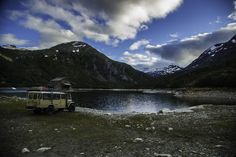 Near Tafjord, Norway with Toyota Land Cruiser HJ47