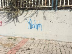 Turkey Street Art Street Graffiti, Text Quotes, My Mood, Cool Words, Tatoos, Tumblr, Sidewalk, Wall, Photography