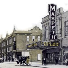 The Maspeth Movie theatre. Brooklyn New York, New York City, Old Pictures, Old Photos, Queens Nyc, Old Street, Movie Theater, Back In The Day, The Neighbourhood