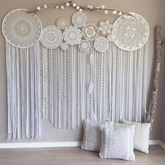 boho rustic wedding backdrop ścianka w stylu boho ...