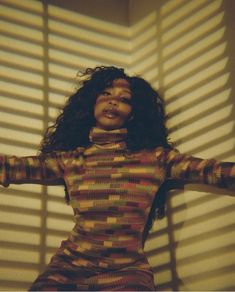 Singer SZA covers the new issue of i-D magazine in a photo shoot done by photographer Petra Collins.