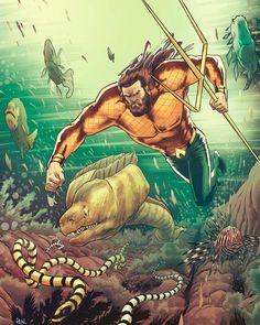 Aquaman by JoseRealArt on DeviantArt