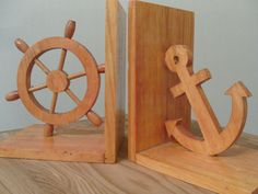 Nautical Vintage Bookends