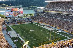 Edusport - Super Bowl 50 Packages - NFL Super Bowl Package Great Places, Places To See, Places Ive Been, Visit Pittsburgh, Heinz Field, Nfl Football, Baseball Field, Super Bowl, Packaging