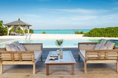Parrot Cay By Como, Turks & Caicos IslandsYou don't have to fly halfway across the globe to reach private-island nirvana. From Miami, it's less than two hours to Providenciales International Airport in Turks & Caicos. #refinery29 http://www.refinery29.com/private-island-hotels#slide-5