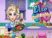 Elsa Real Cooking | juegos de cocina - jugar online