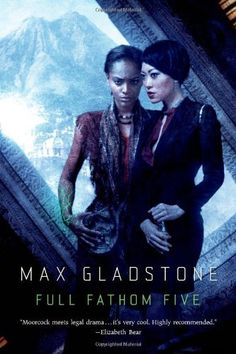 Full Fathom Five: A Novel of the Craft Sequence by Max Gladstone, http://www.amazon.com/dp/0765335743/ref=cm_sw_r_pi_dp_Wd4Oub153FPNC