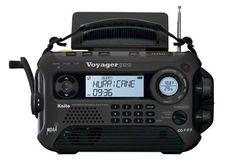 Emergency Handcrank Power Radio @ Sharper Image