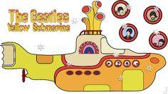 Imprimibles Submarino Amarillo (Beatles) 8.